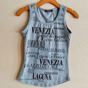Star Venezia Italian Venice Graphic Tank Top